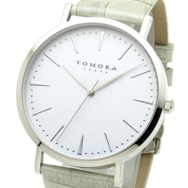 ●【送料無料】TOMORA TOKYO(トモラ トウキョウ) 腕時計 T-1601-SWHGY「他の商品と同梱不可/北海道、沖縄、離島別途送料」