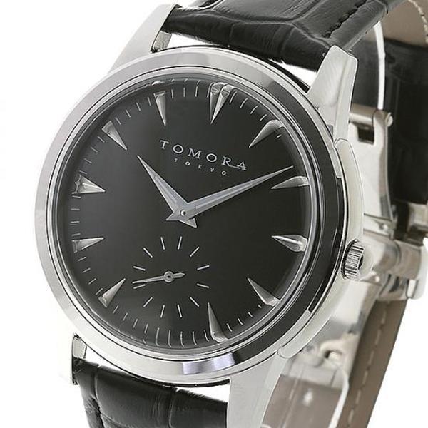 ●【送料無料】TOMORA TOKYO(トモラ トウキョウ) 腕時計 T-1602-SSBK「他の商品と同梱不可/北海道、沖縄、離島別途送料」