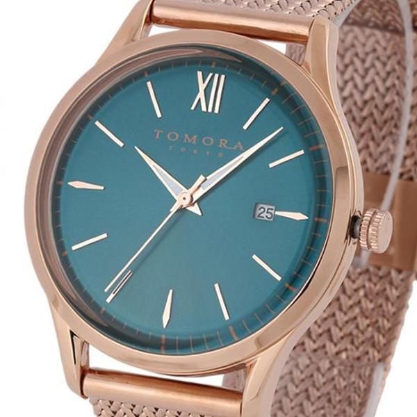 ●【送料無料】TOMORA TOKYO(トモラ トウキョウ) 腕時計 T-1605SS-PPB「他の商品と同梱不可/北海道、沖縄、離島別途送料」