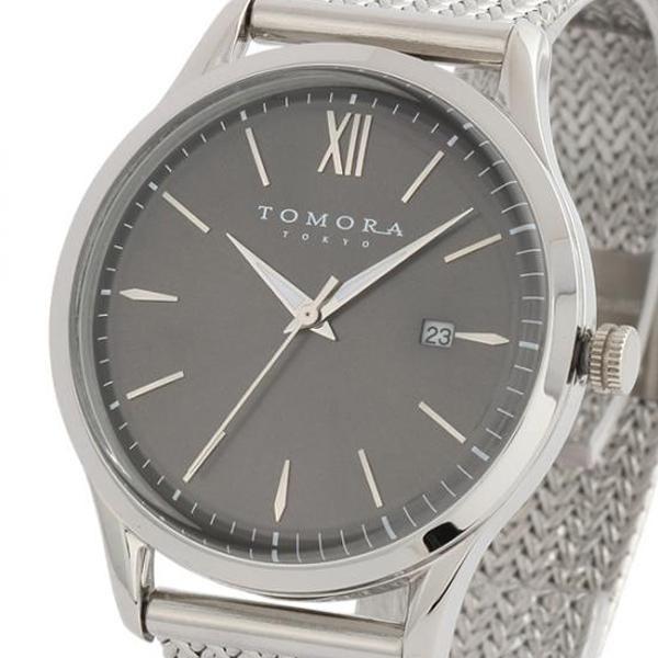 ●【送料無料】TOMORA TOKYO(トモラ トウキョウ) 腕時計 T-1605SS-SGY「他の商品と同梱不可/北海道、沖縄、離島別途送料」