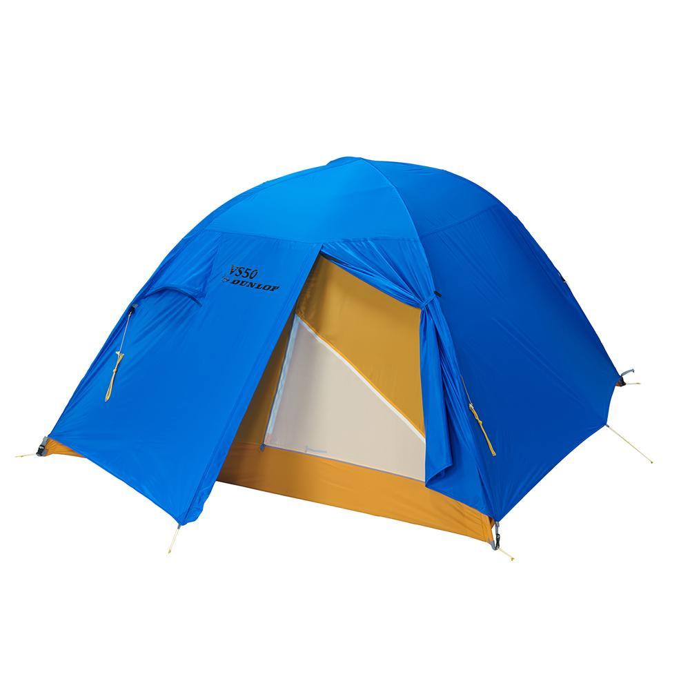 ●【送料無料】VS-Series コンパクト登山テント 5人用 ブルー VS-50「他の商品と同梱不可/北海道、沖縄、離島別途送料」