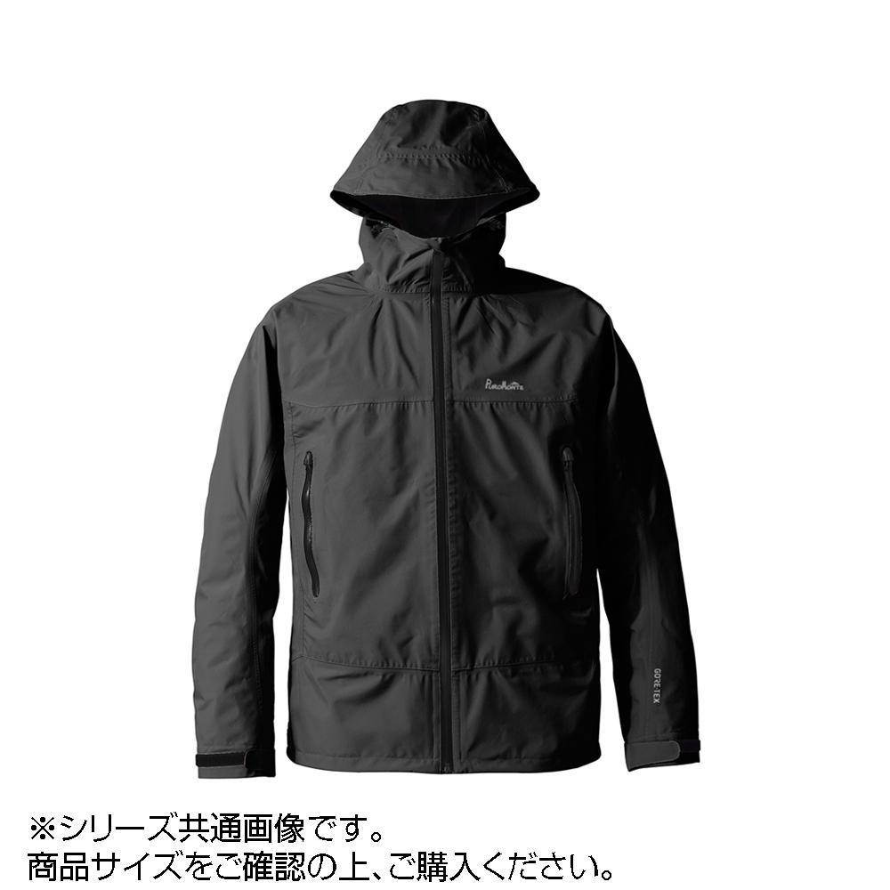 ●【送料無料】GORE・TEX ゴアテックス パックライトジャケット メンズ ブラック 3L SJ008M「他の商品と同梱不可/北海道、沖縄、離島別途送料」