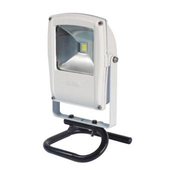 ●【送料無料】LEN-F10S-W LEDフラットライト 10W 床スタンド式 白 13022「他の商品と同梱不可/北海道、沖縄、離島別途送料」