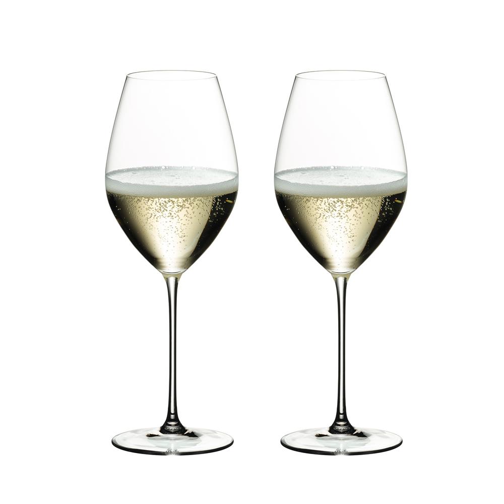 ●【送料無料】リーデル ヴェリタス シャンパーニュ ワイングラス 6449/28 (445cc) 2脚箱入 667「他の商品と同梱不可/北海道、沖縄、離島別途送料」