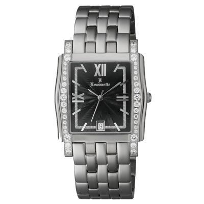 ●【送料無料】Romanette(ロマネッティ) ステンレス メンズ腕時計 RE-3519M-1「他の商品と同梱不可/北海道、沖縄、離島別途送料」