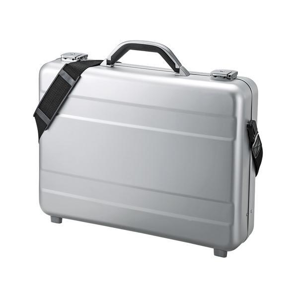 ●【送料無料】サンワサプライ PCアルミケース BAG-AL4「他の商品と同梱不可/北海道、沖縄、離島別途送料」