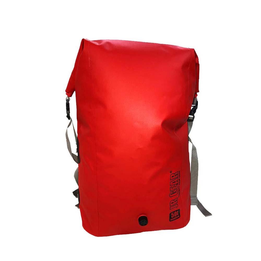●JR GEAR(R) Bomber Pack 50 防水バックパック ♯BOM050 Red(20)「他の商品と同梱不可」