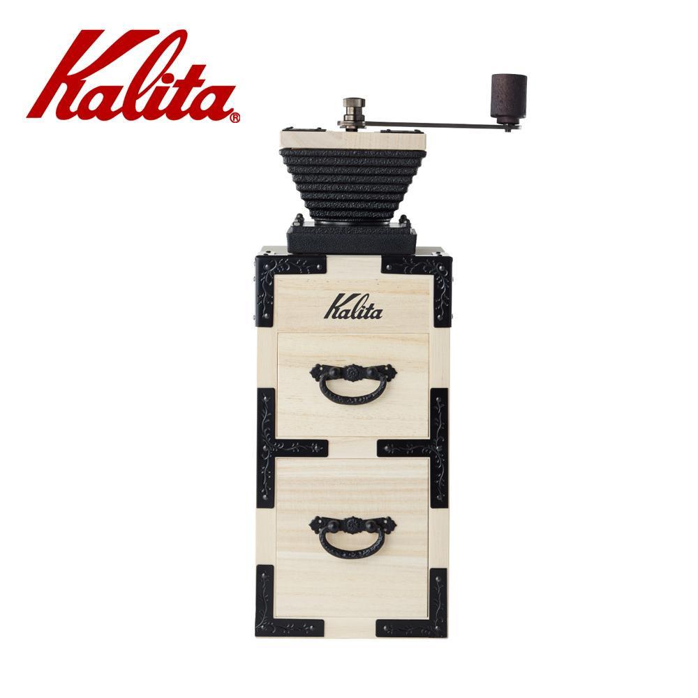 ●【送料無料】Kalita(カリタ) KIRI&Kalita コーヒーミル 桐モダン弐 42141「他の商品と同梱不可/北海道、沖縄、離島別途送料」