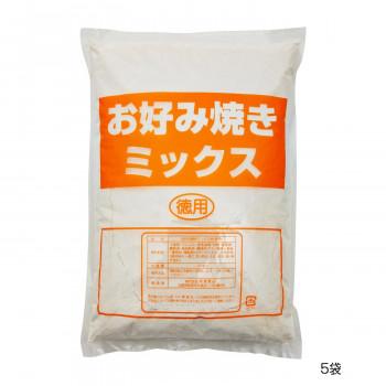 ◎●【送料無料】和泉食品 パロマお好み焼きミックス粉 2kg(5袋)「他の商品と同梱不可/北海道、沖縄、離島別途送料」