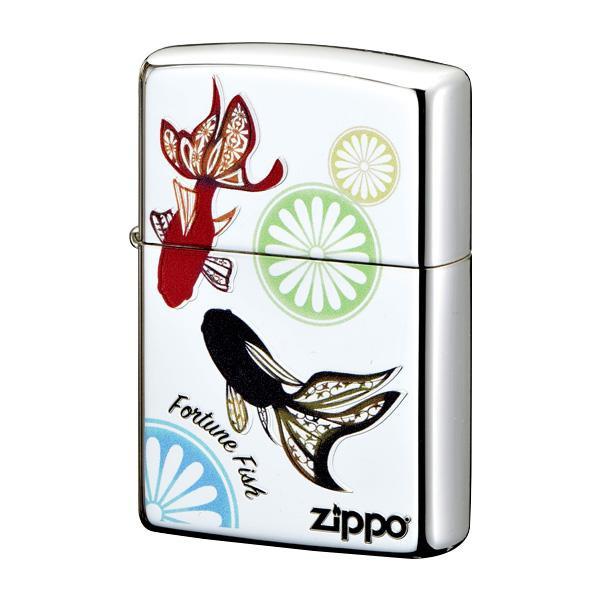 ●【送料無料】ZIPPO 幸福金魚 2-106a (♯200) 70609「他の商品と同梱不可/北海道、沖縄、離島別途送料」