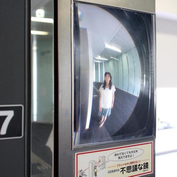 ●【送料無料】【代引不可】コミー FFミラー三方枠用 室内専用 205×145×2.5mm「他の商品と同梱不可/北海道、沖縄、離島別途送料」