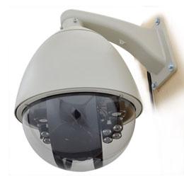 ☆サンコー スピードドームジョイスティック付防犯カメラシステム STSPDM54