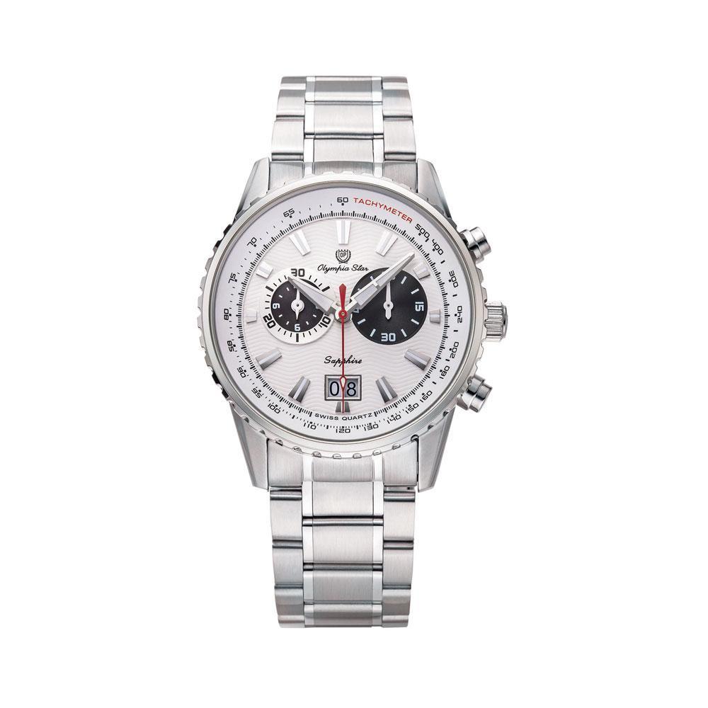 ●【送料無料】OLYMPIA STAR(オリンピア スター) メンズ 腕時計 OP-589-01MS-3「他の商品と同梱不可/北海道、沖縄、離島別途送料」