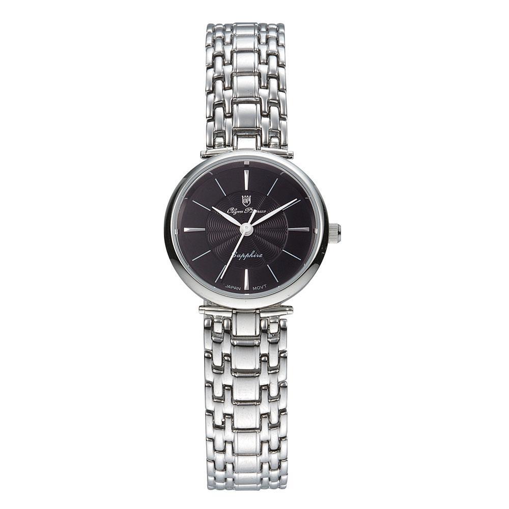 ●【送料無料】OLYM PIANAS(オリン ピアナス) レディース 腕時計 ON-5657DLS-1「他の商品と同梱不可/北海道、沖縄、離島別途送料」