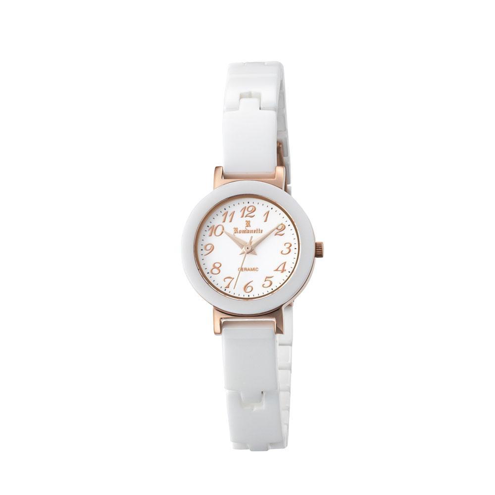 ●【送料無料】ROMANETTE(ロマネッティ) レディース 腕時計 RE-3531L-03「他の商品と同梱不可/北海道、沖縄、離島別途送料」