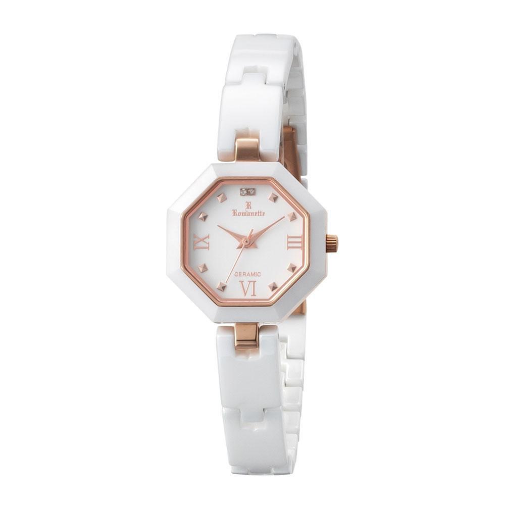 ●【送料無料】ROMANETTE(ロマネッティ) レディース 腕時計 RE-3533L-02「他の商品と同梱不可/北海道、沖縄、離島別途送料」