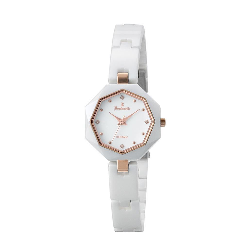 ●【送料無料】ROMANETTE(ロマネッティ) レディース 腕時計 RE-3532L-02「他の商品と同梱不可/北海道、沖縄、離島別途送料」