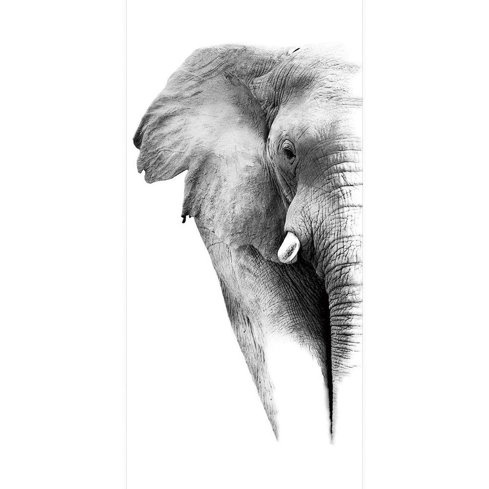 ●【送料無料】SPICE Monochrome アートパネル エレファント HPDN1010「他の商品と同梱不可/北海道、沖縄、離島別途送料」