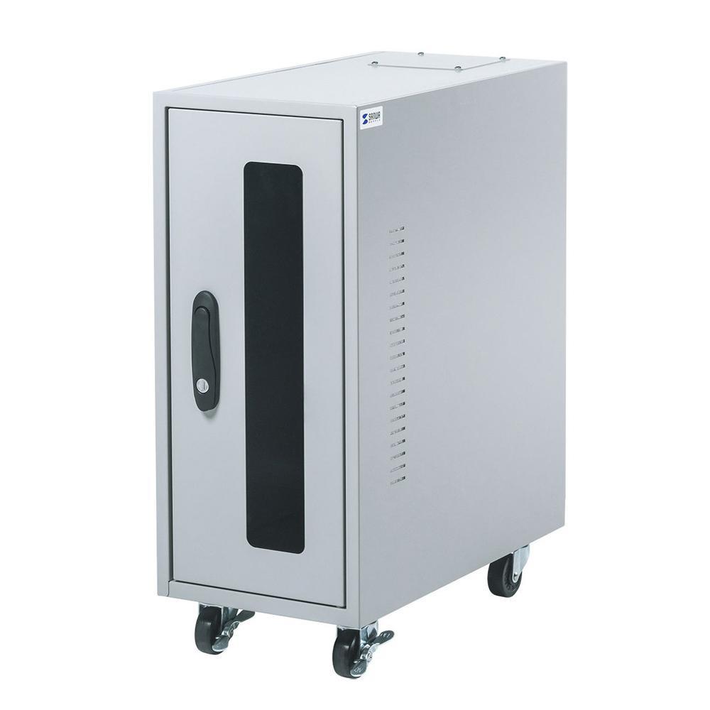 ●【送料無料】サンワサプライ 簡易防塵ハブボックス(2U) MR-FAHBOX2U「他の商品と同梱不可/北海道、沖縄、離島別途送料」