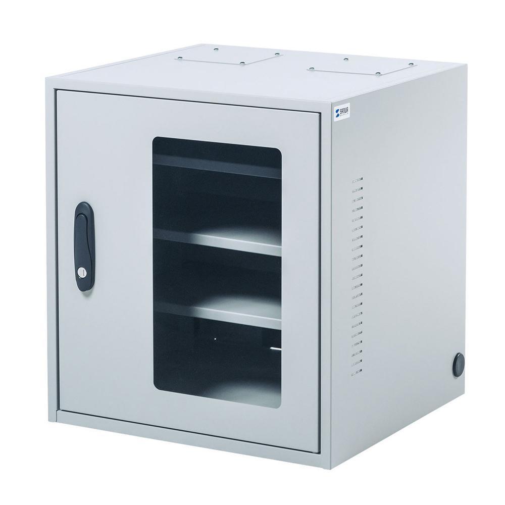 ●【送料無料】【代引不可】サンワサプライ 簡易防塵機器収納ボックス(W450) MR-FAKBOX450「他の商品と同梱不可/北海道、沖縄、離島別途送料」