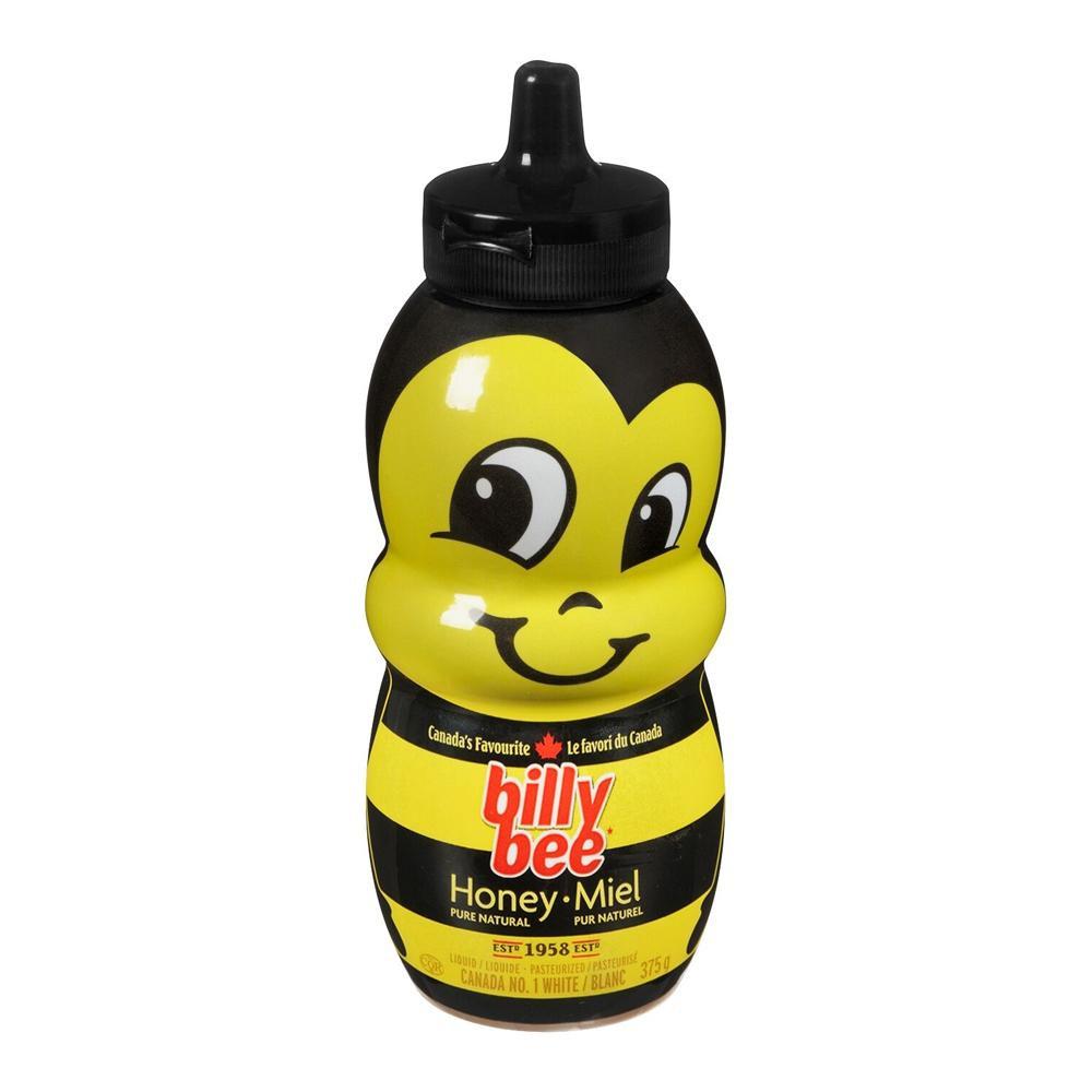 ◎●【送料無料】【代引不可】billy bee(ビリービー) ハチミツ ビーボトル 375g×12個セット「他の商品と同梱不可/北海道、沖縄、離島別途送料」