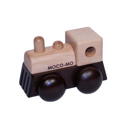 ●【送料無料】MOCO-MO ころころオルゴール 汽車 星に願いを MM006-BN「他の商品と同梱不可/北海道、沖縄、離島別途送料」