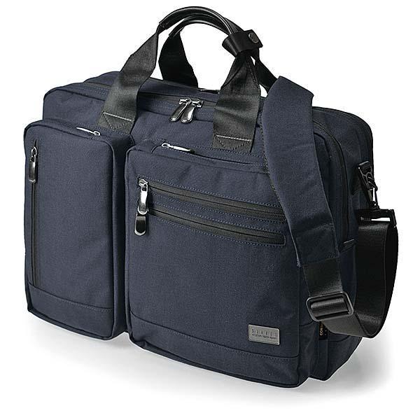 ●【送料無料】BAGGEX コマンドブリーフ3WAYS 23-5603 ネイビーブルー「他の商品と同梱不可/北海道、沖縄、離島別途送料」