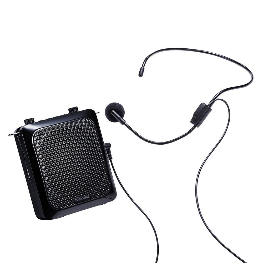 ●【送料無料】サンワサプライ ハンズフリー拡声器スピーカー MM-SPAMP9「他の商品と同梱不可/北海道、沖縄、離島別途送料」