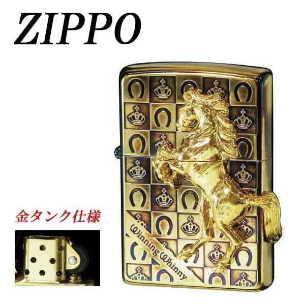●【送料無料】ZIPPO ウイニングウィニーグランドクラウン GDイブシ「他の商品と同梱不可」