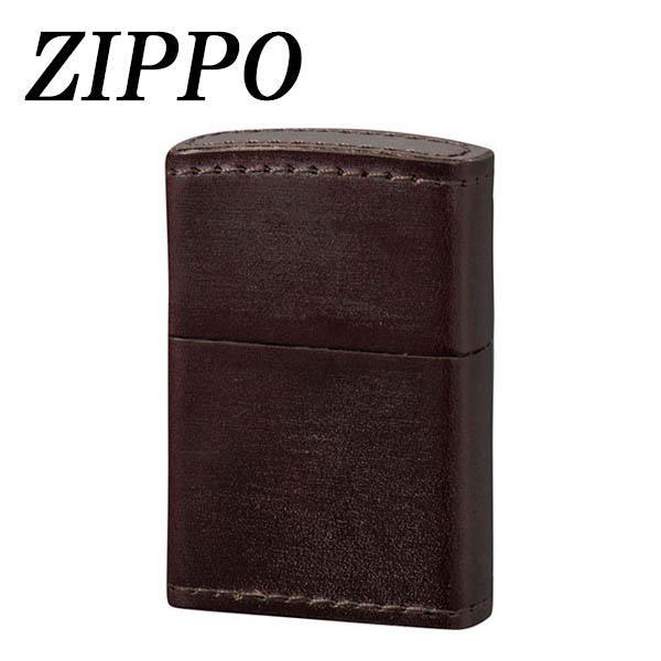●【送料無料】ZIPPO 革巻 ブライドルレザー オーストラリアンナッツ「他の商品と同梱不可」