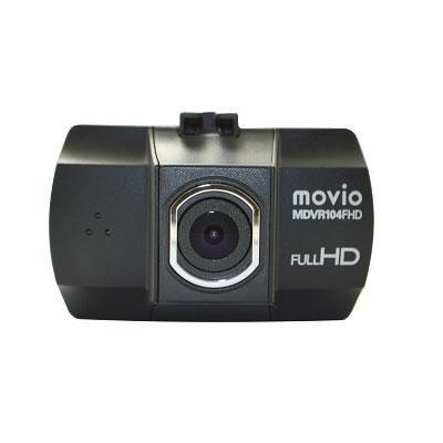●【送料無料】movio FULL HDドライブレコーダー MDVR104FHD「他の商品と同梱不可/北海道、沖縄、離島別途送料」