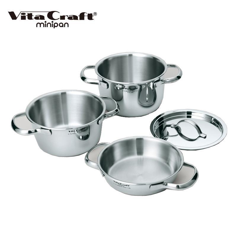 ●【送料無料】VitaCraft(ビタクラフト) ミニパンセット 2800「他の商品と同梱不可/北海道、沖縄、離島別途送料」