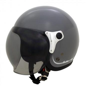 ●【送料無料】ダムトラックス(DAMMTRAX) バブル ビー ヘルメット GLOSS GRAY「他の商品と同梱不可/北海道、沖縄、離島別途送料」