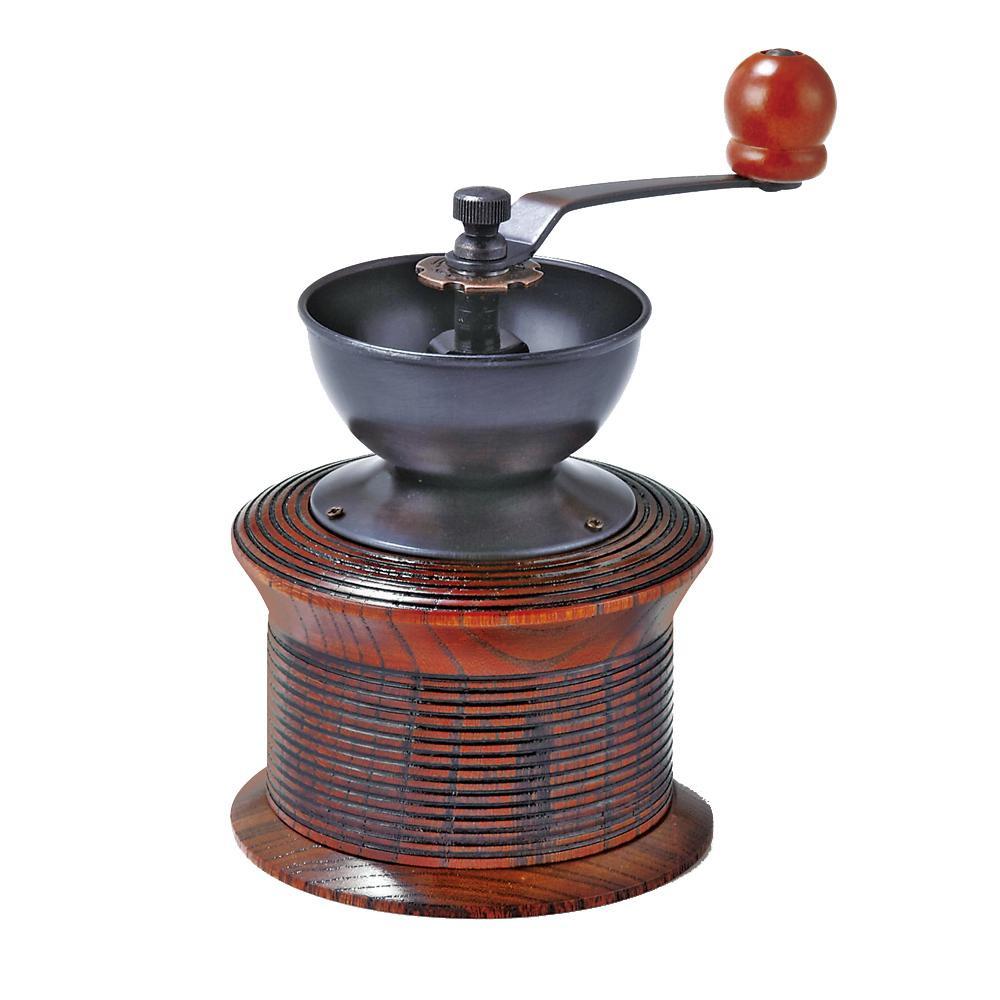 ●【送料無料】東出漆器 コーヒーミル 24012「他の商品と同梱不可/北海道、沖縄、離島別途送料」