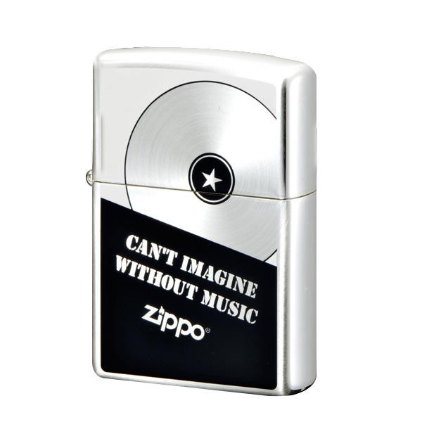 ●【送料無料】ZIPPO ミュージックファン SV 2-103a (♯200) 70607「他の商品と同梱不可/北海道、沖縄、離島別途送料」