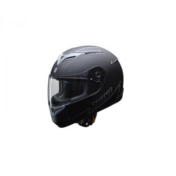 ●【送料無料】リード工業 LEAD ZIONE フルフェイスヘルメット グレー Lサイズ「他の商品と同梱不可/北海道、沖縄、離島別途送料」