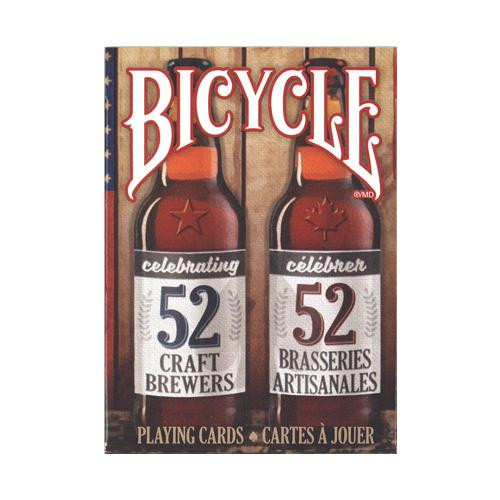 クラフトビールのロゴデザインがおしゃれ 送料無料 プレイングカード バイスクル クラフトビール スピリット 流行のアイテム 他の商品と同梱不可 離島別途送料 沖縄 PC808CBS 新作 北海道