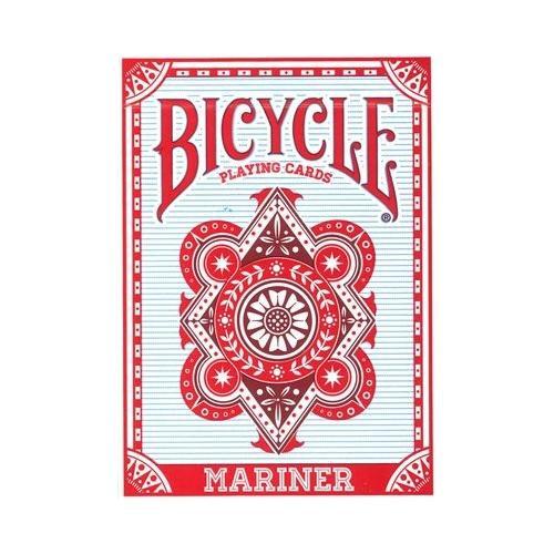 カードゲームやマジックに 送料無料 プレイングカード バイスクル マリナー 赤 PC808MRA 無料サンプルOK 離島別途送料 他の商品と同梱不可 記念日 北海道 沖縄