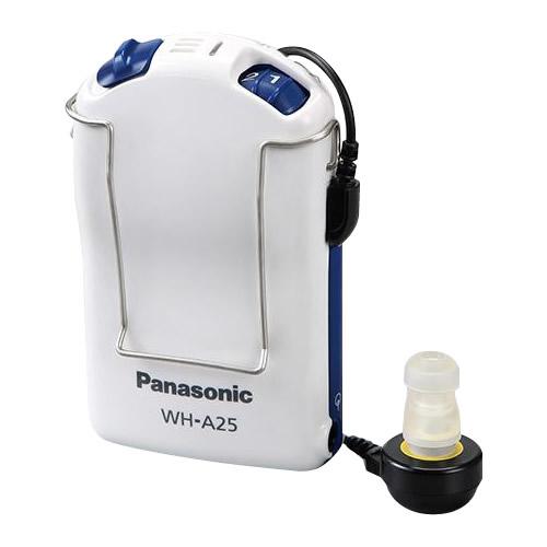 ●【送料無料】Panasonic パナソニック アナログポケット型補聴器 WH-A25 25244「他の商品と同梱不可/北海道、沖縄、離島別途送料」
