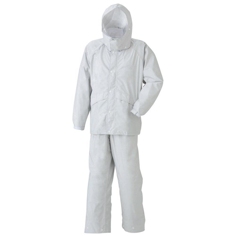 ●スミクラ 透湿 ストリートスーツ A-625シルバー L「他の商品と同梱不可/北海道、沖縄、離島別途送料」