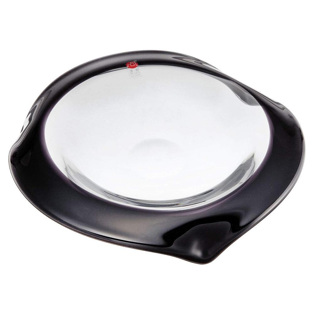 ●【送料無料】UKABU deep plate240(black) F71109「他の商品と同梱不可/北海道、沖縄、離島別途送料」