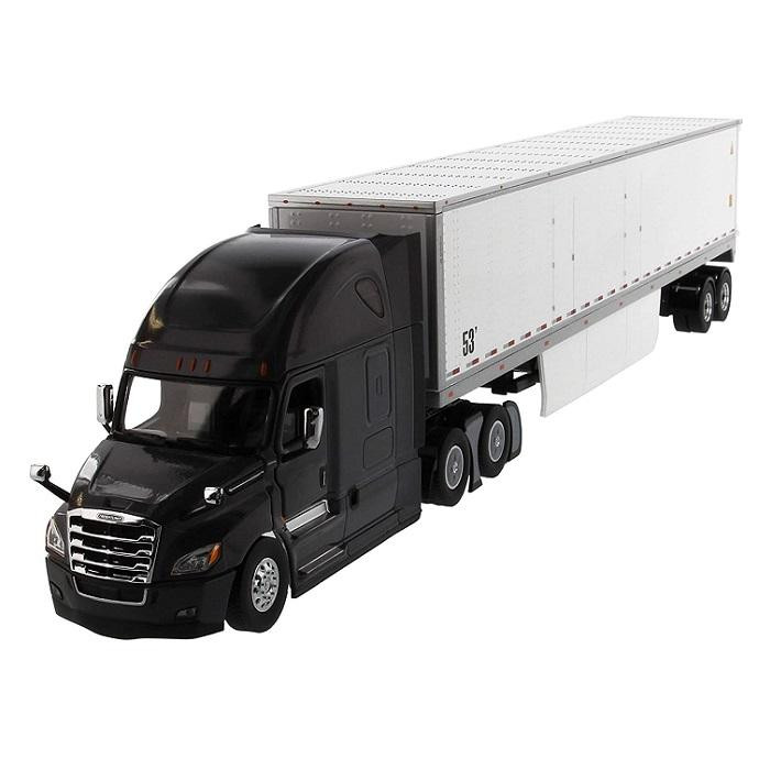 ●【送料無料】DIECAST MASTERS フレイトライナー New カスカディアグレー 53 Dry Cargo Van 1/50スケール 71047「他の商品と同梱不可/北海道、沖縄、離島別途送料」