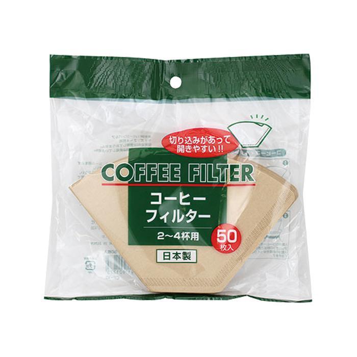●【送料無料】アートナップ コーヒーフィルター 2~4杯用 50枚×200 CF-12W「他の商品と同梱不可/北海道、沖縄、離島別途送料」