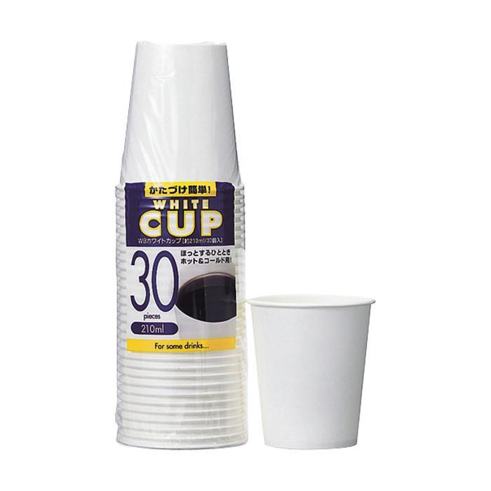 ●【送料無料】アートナップ WBホワイトカップ 210ml 30個×60 WB-10「他の商品と同梱不可/北海道、沖縄、離島別途送料」