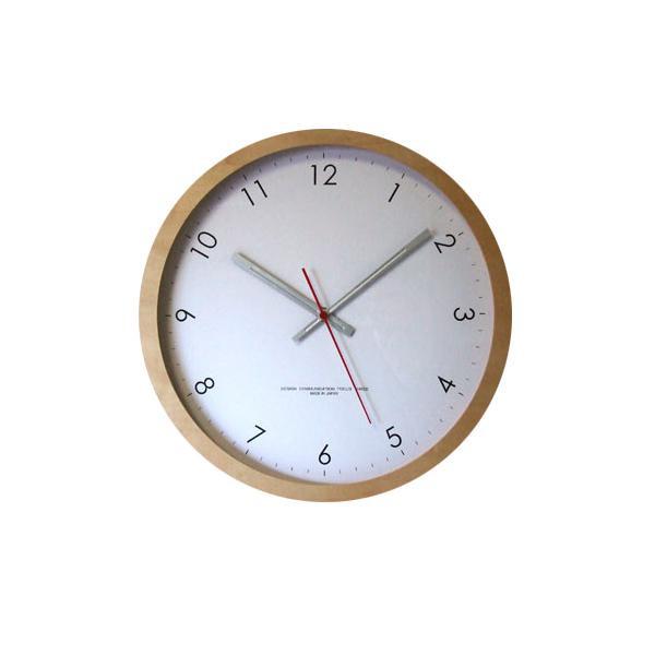 ●【送料無料】メープルの時計 スイープ ナチュラル V-0015「他の商品と同梱不可/北海道、沖縄、離島別途送料」