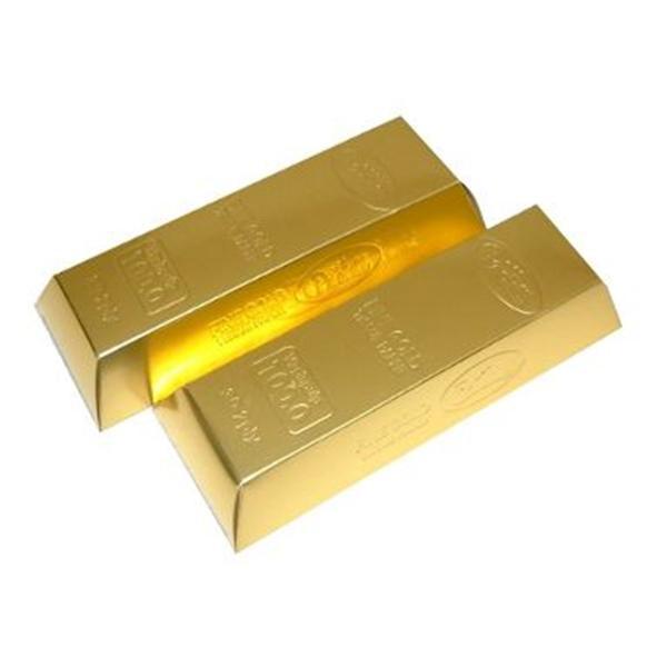 ●【送料無料】お金シリーズ ゴールドバー BOXティッシュ 100個入 7090「他の商品と同梱不可/北海道、沖縄、離島別途送料」