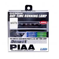 ●【送料無料】PIAA デイタイムランプ 12V・6連LEDホワイト L-221W「他の商品と同梱不可/北海道、沖縄、離島別途送料」