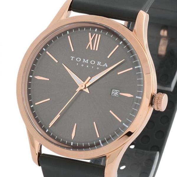 ●【送料無料】TOMORA TOKYO(トモラ トウキョウ) 腕時計 T-1605-PGY「他の商品と同梱不可/北海道、沖縄、離島別途送料」