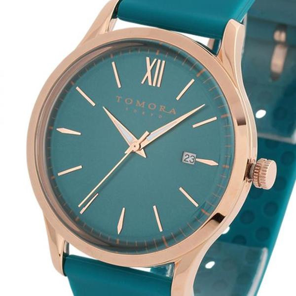 ●【送料無料】TOMORA TOKYO(トモラ トウキョウ) 腕時計 T-1605-PPB「他の商品と同梱不可/北海道、沖縄、離島別途送料」