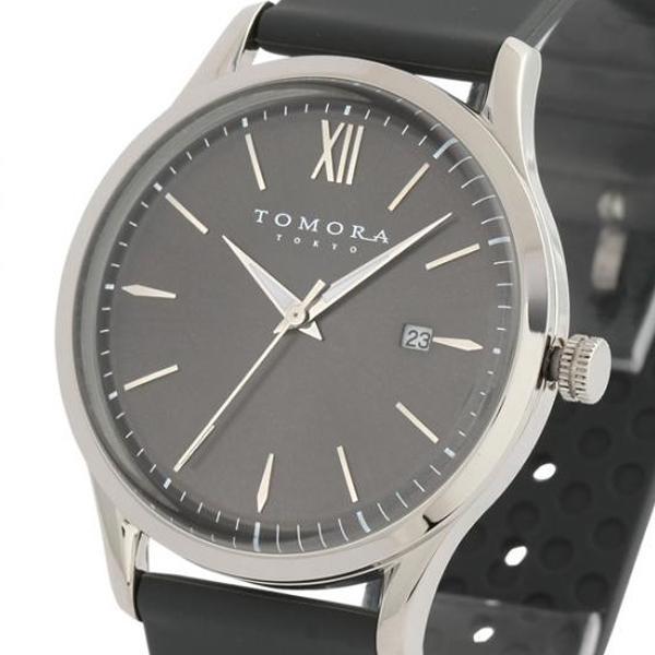 ●【送料無料】TOMORA TOKYO(トモラ トウキョウ) 腕時計 T-1605-SGY「他の商品と同梱不可/北海道、沖縄、離島別途送料」